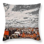 Flight Perspective V2 Throw Pillow