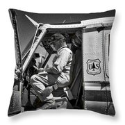 Flight Prep Throw Pillow