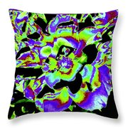 Flin Flon Rose Throw Pillow