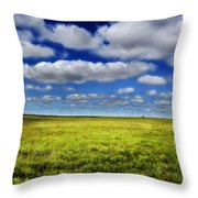 Flint Hills Panorama 1 Throw Pillow