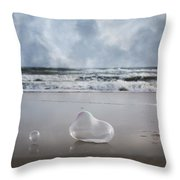 Float Bounce And Roll Throw Pillow