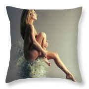 Float, Float On Throw Pillow by Smart Aviation