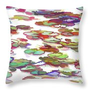 Float On The Water Throw Pillow