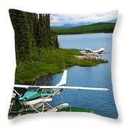 Float Planes Throw Pillow