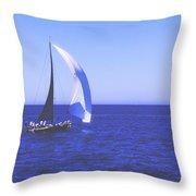 Floating Away Throw Pillow