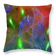 Floating Bubbles # 20 Throw Pillow
