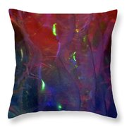 Floating Bubbles # 21 Throw Pillow