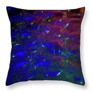 Floating Bubbles # 22 Throw Pillow