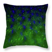 Floating Bubbles # 24 Throw Pillow