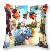 Floating By Throw Pillow