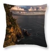 Floating Clouds Throw Pillow