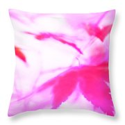 Floating Hearts 3 Throw Pillow