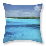 Floating Island Throw Pillow