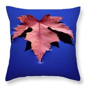Floating Leaf 2 - Maple Throw Pillow