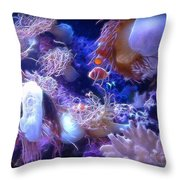 Floating Life II Throw Pillow