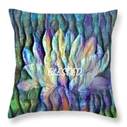 Floating Lotus - Blessed Throw Pillow