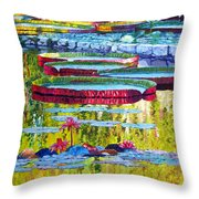 Floating Parallel Universes Throw Pillow