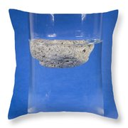 Floating Pumice Throw Pillow