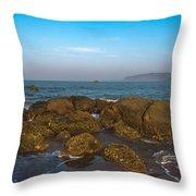 Floating Rocks Throw Pillow