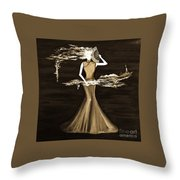Floating Scent Throw Pillow