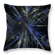 Floating Seeds Throw Pillow