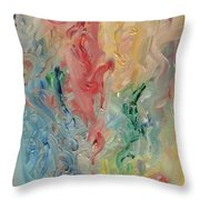 Floating Thoughts Throw Pillow