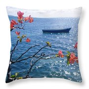 Floating Tranquility Throw Pillow