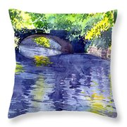 Floods Throw Pillow