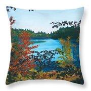 Floodwood Throw Pillow