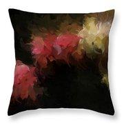 Flora Feathers Throw Pillow