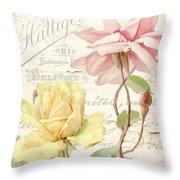 Florabella Iv Throw Pillow
