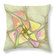 Floral 2-19-10-a Throw Pillow