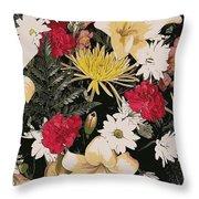 Floral 2 Throw Pillow