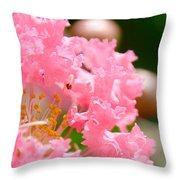 Floral 4 Throw Pillow