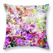 Floral Art Clvi Throw Pillow