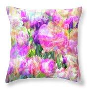 Floral Art Cx Throw Pillow