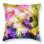 Floral Art Cxii Throw Pillow