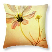 Floral At Dusk Throw Pillow