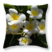 Floral Beauties Throw Pillow