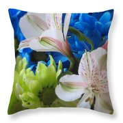 Floral Bouquet 1 Throw Pillow