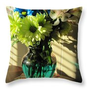 Floral Bouquet 3 Throw Pillow
