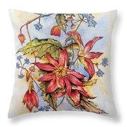 Floral Display 1 Throw Pillow