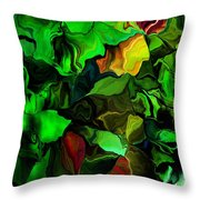 Floral Expression 080616 Throw Pillow