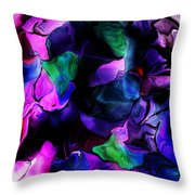 Floral Expressions 080616-2 Throw Pillow