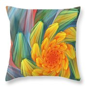 Floral Expressions 1 Throw Pillow