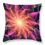 Floral Expressions 3 Throw Pillow