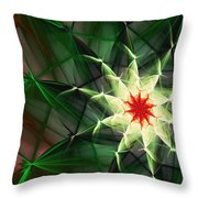 Floral Expressions 4 Throw Pillow