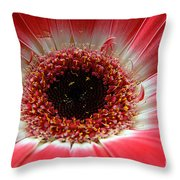 Floral Eye Throw Pillow