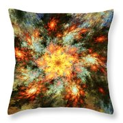 Floral Fantasy 072010 Throw Pillow
