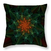 Floral Fantasy 073110 Throw Pillow
